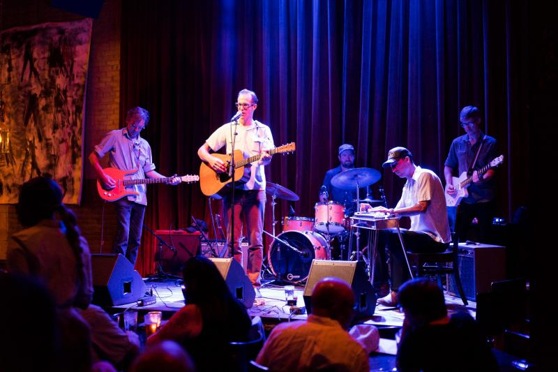 Jack Klatt and his band, our feature for November