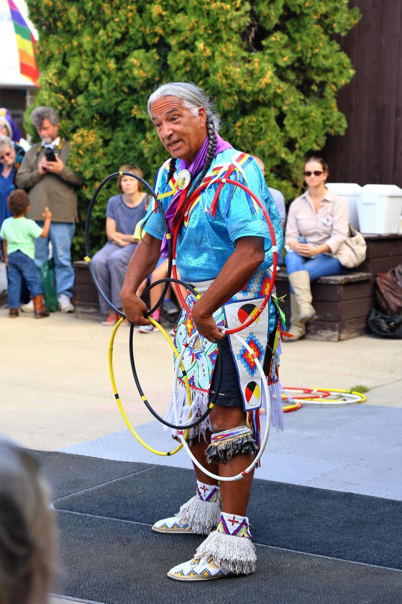 Kevin Locke, Hoop Dancer