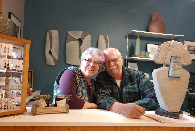 Amy Sharpe and Bob Carls
