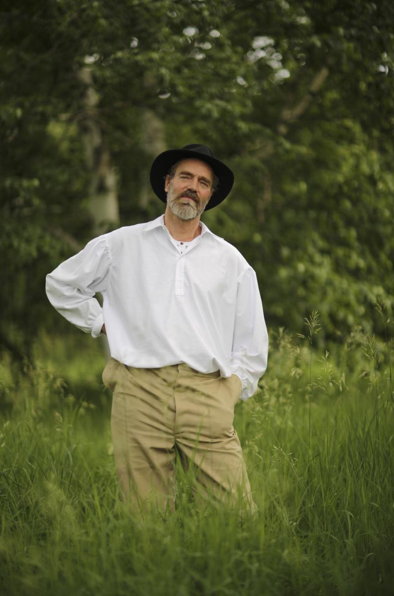 Patrick Scully as Walt Whitman