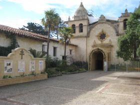 The Carmel Mission Basilica