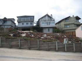 A lot of record awaits development at Monterey's Del Monte Beach.