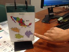 By using this map of Mexico, Natividad Medical Center staff can determine what kind of interpreter their patients need.