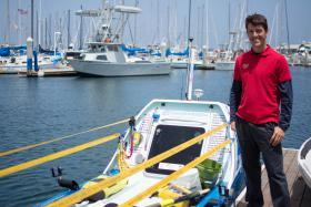 Chris Martin, Race Director of the Great Pacific Race