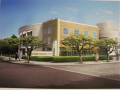 Artist's rendering of new Monterey VA/DOD Clinic.