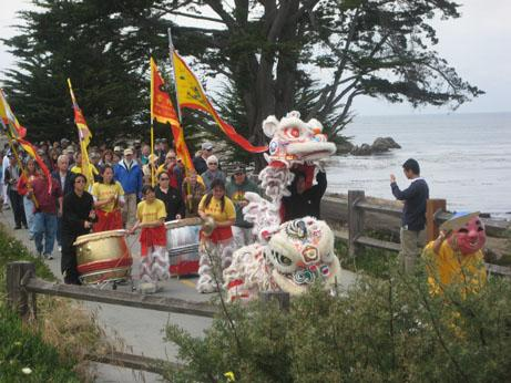 The Walk of Remembrance on Pacific Grove's coastal trail, 2011.
