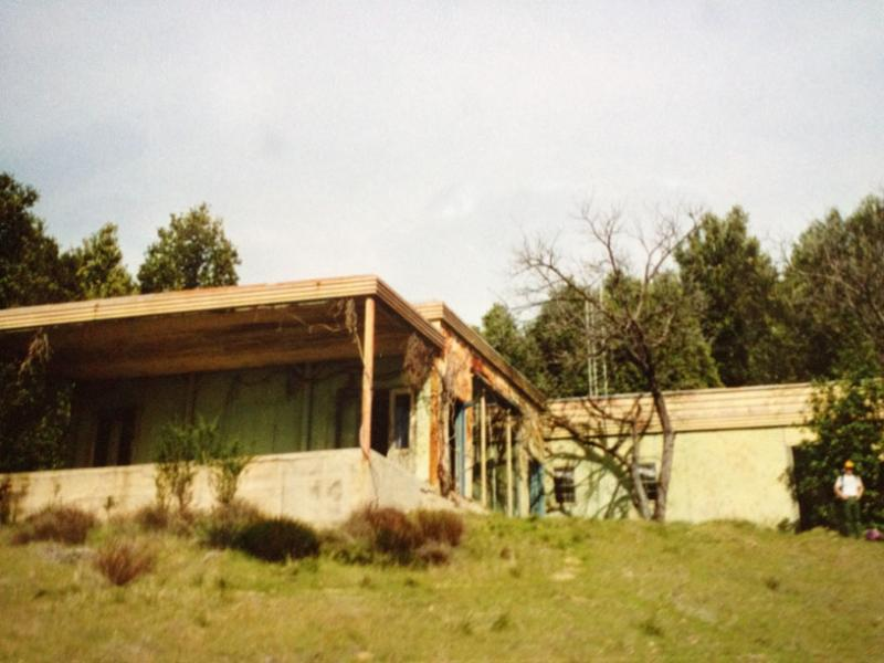 an undated photo of the Tin House