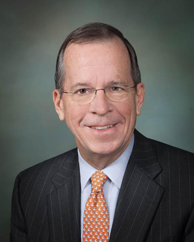 Mike Mullen, former Chairman of the Joint Chiefs of Staff