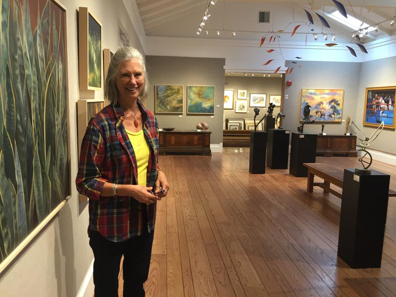 5:00pm: Carmel artist Jan Wagstaff at the Carmel Art Association Gallery on Dolores Street.