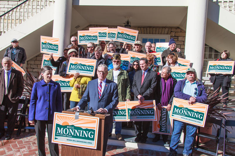 On Tuesday, State Senator Bill Monning announced his plan to run for re-election.  Before today, many had speculated he would run for the Congressional seat of retiring Representative Sam Farr.