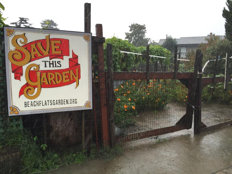 The Beach Flats Community Garden is a city run garden on private property in Santa Cruz.