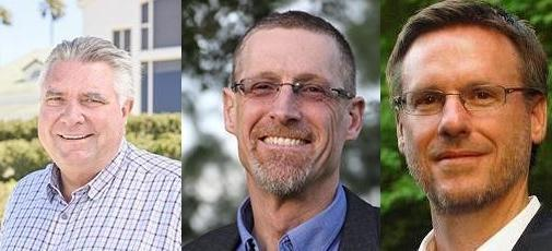 Rick Antle, CEO of Tanimura & Antle; Chris Benner, UC Santa Cruz Professor of Environmental Studies; Tim Rainey, Executive Director of the California Workforce Development Board