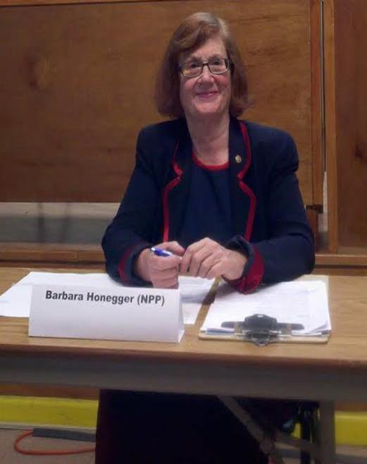 Independent candidate Barbara Honegger is making her second run at the California Congressional District 20 Seat.