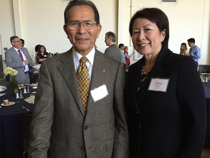 Andy and Teresa Matsui.  The Matsui Foundation has covered the cost of the CSin3 program for graduating classes 2016, 2017, 2018 and 2019.