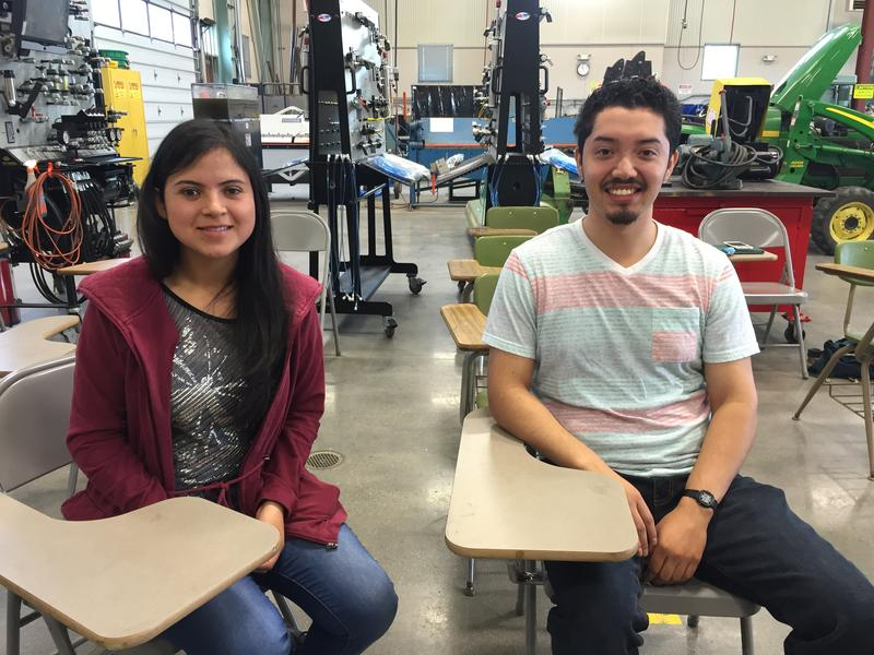 CSin3 students Monse Hernandez and Jose Diaz both interned at Cisco in Silicon Valley and Heavy Connect in Salinas.