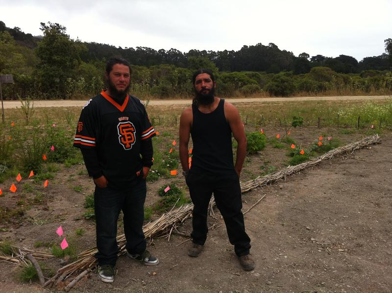 Amah Mutsun Tribal Band members Paul and Abran Lopez have been learning about the traditional practices of their ancestors through their tribe's Stewardship Corps.