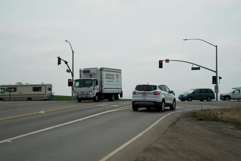 Highway 156 at Castroville Boulevard is one of the top locations for car crashes in Monterey County.