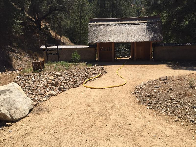 The entrance to the Tassajara Zen Center.