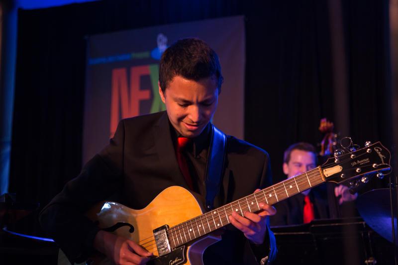Next Generation Jazz Orchestra member Isaac de Vera of Monterey