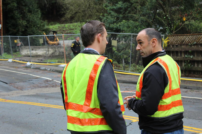 Santa Cruz County Supervisor Zach Friend and Congressman Jimmy Panetta discuss what's next after storms tear up roads across the county.