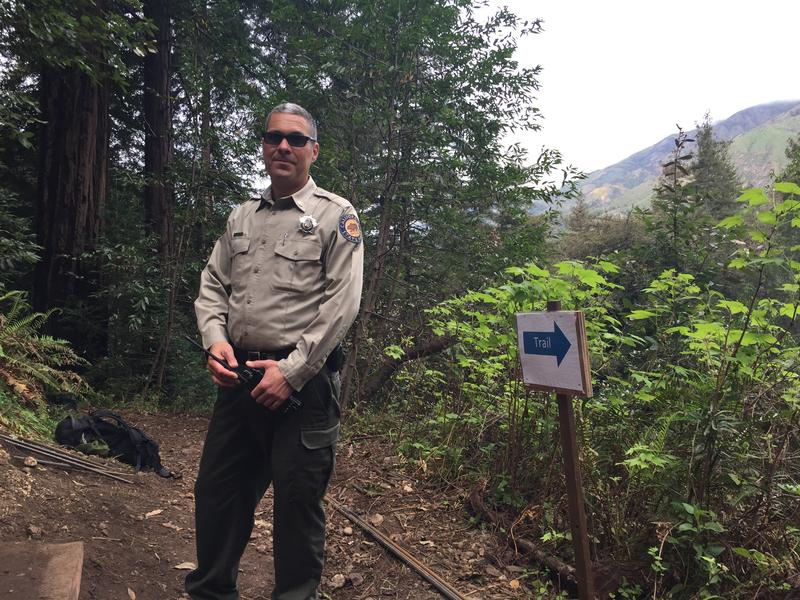 John De Luca of California State Parks Big Sur Sector