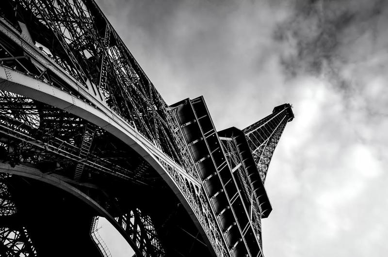 Carmel photographer Marc Silber's unique perspective on the Eiffel Tower.