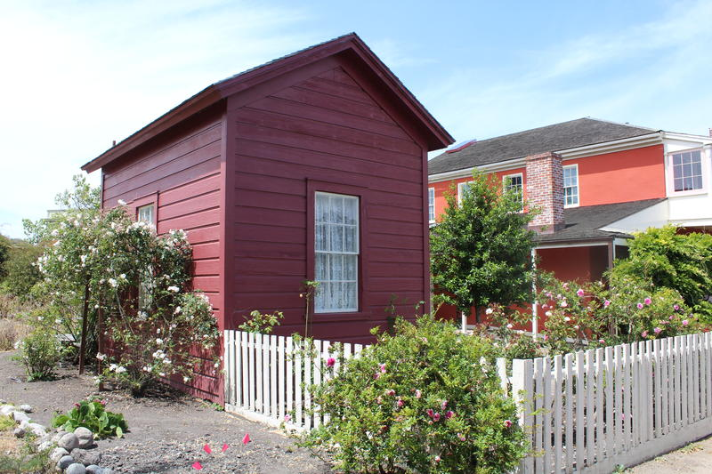 "The ""red house"" on the property will become an office for a National Trust employee."