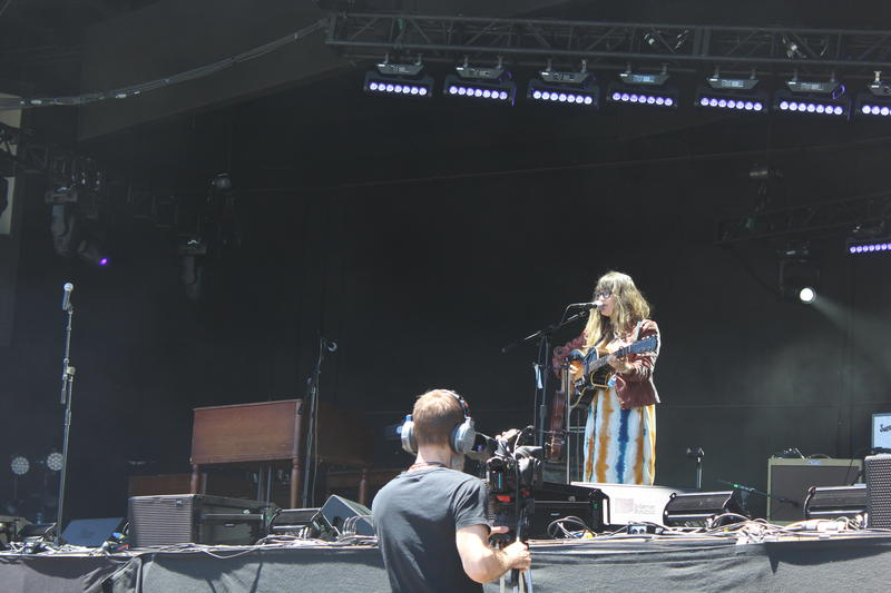 And singer-songwriter Sara Watkins kicked off Monterey Pop.
