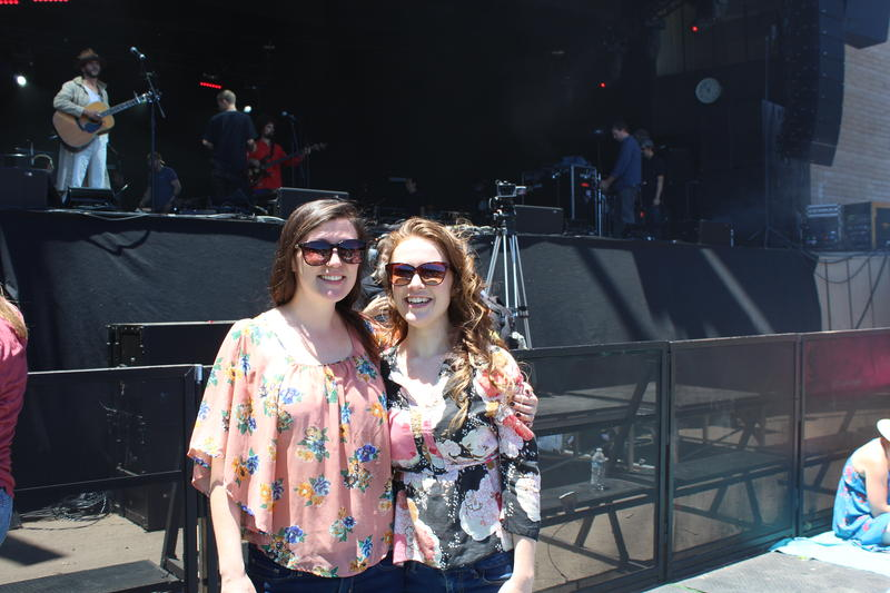 Sisters Jessica and Amanda Helms say the vibe at Monterey Pop was refreshing because it was about the music, not social media.