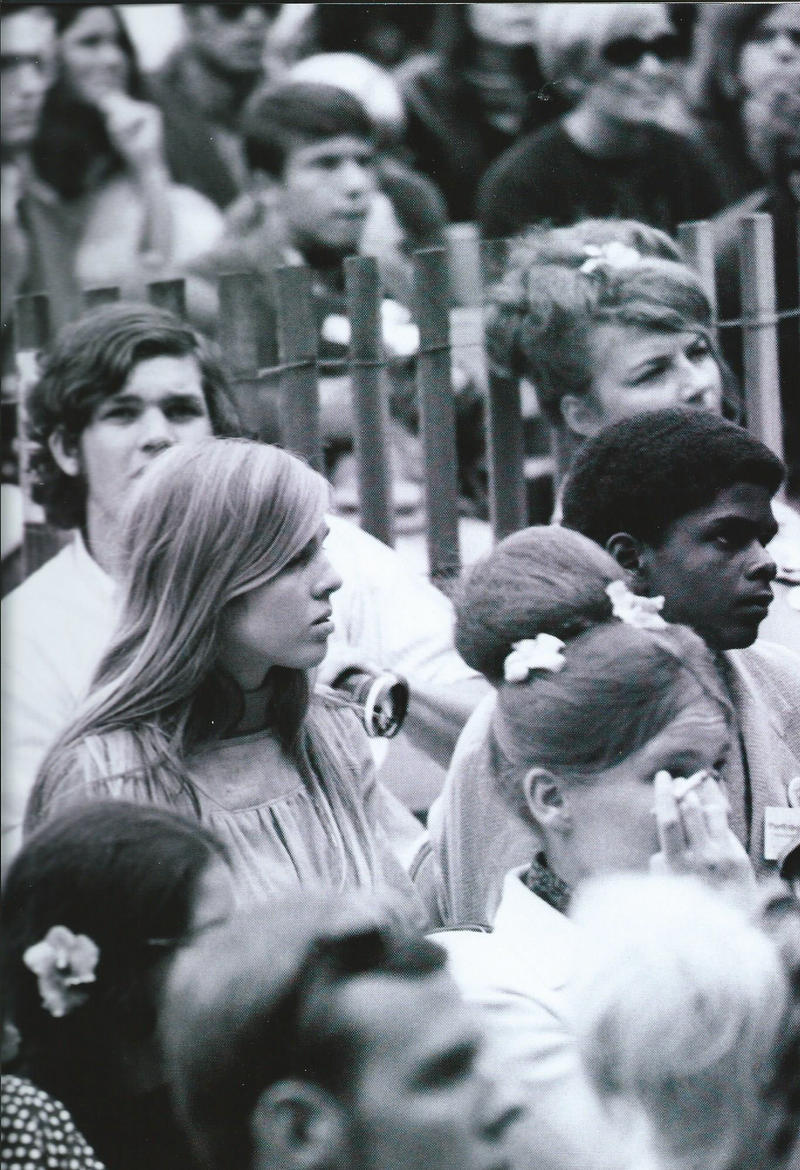 Monterey International Pop Festival at the Monterey County Fairgrounds in 1967