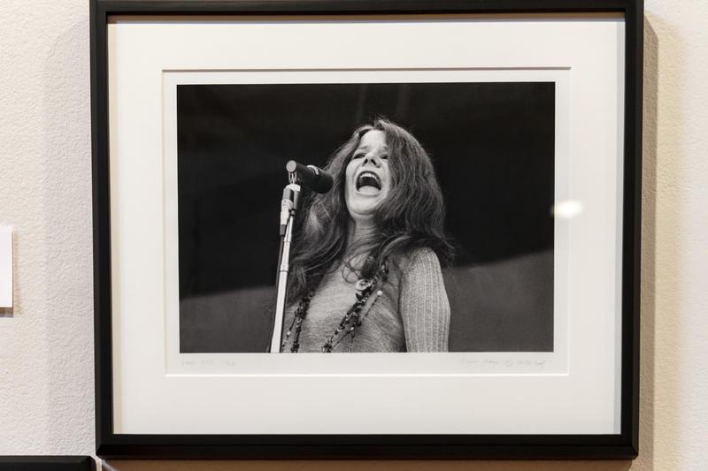 Janis Joplin--Photo by Elaine Mayes