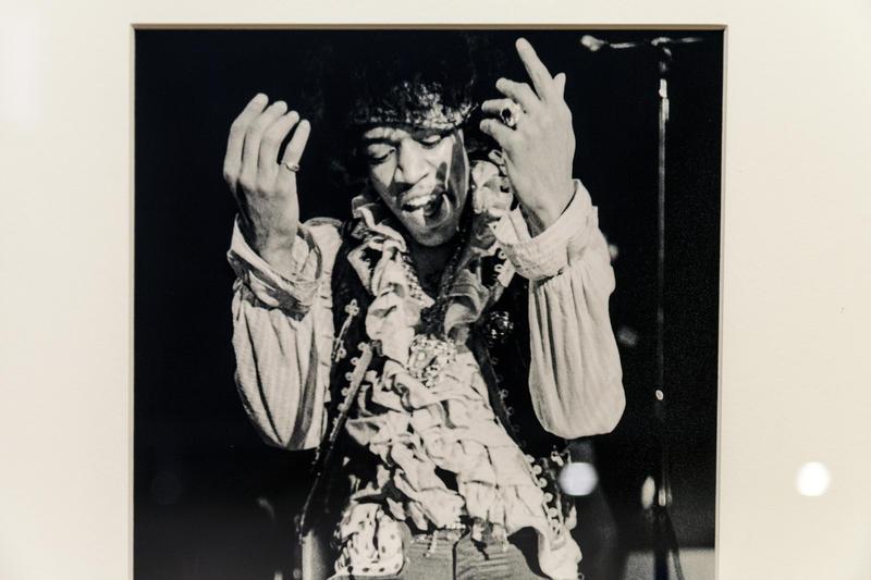Jimi Hendrix--Photo by Ed Caraeff