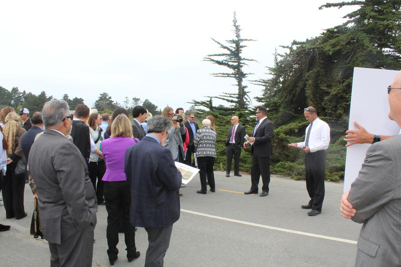 Coastal Commissioners toured the park before approving a permit for State Parks to develop there.