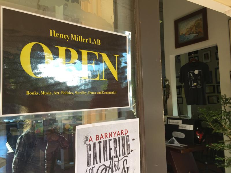 The Henry Miller LAB is open Tuesday to Sunday, noon to 6:00pm.