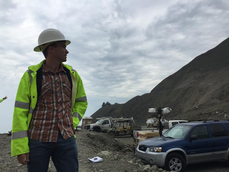 Joe Erwin is CalTrans' Project Manager for the Highway rebuild.