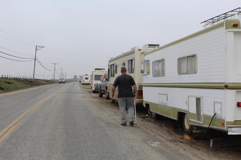 Lapis Road in unincorporated Monterey County has become a community for a number of homeless people. Now, those living there will only be allowed to park and stay overnight.
