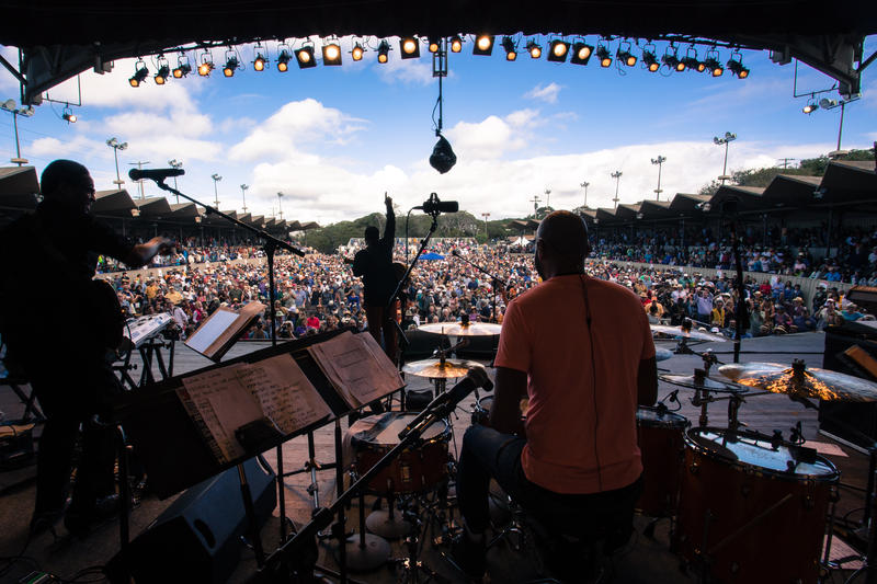 The Monterey Jazz Festival celebrates 60 years this weekend.
