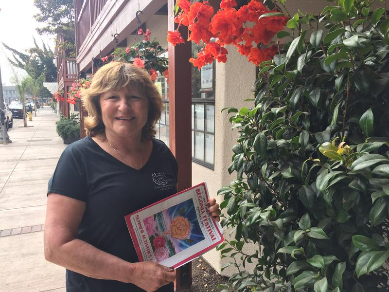 Laurie Hill is President of the Capitola Begonia Festival.