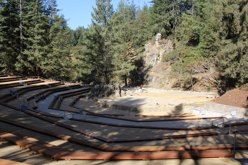 The Quarry Amphitheater opened in the 1960s, and closed in 2006 after falling into disrepair.  It's reopening this weekend.