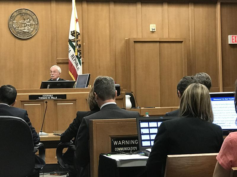 Monterey County Superior Court Judge Thomas Wills issued his intended decision on the Measure Z Trial late Thursday.