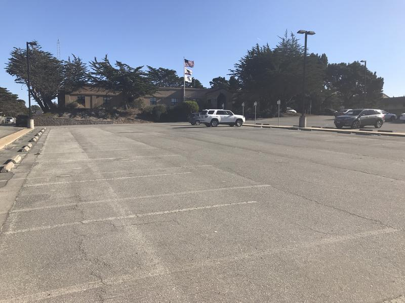 The Safe Parking Program will be located outside of Supervisor Jane Parker's district office on former Fort Ord. There's space for about 15 vehicles.