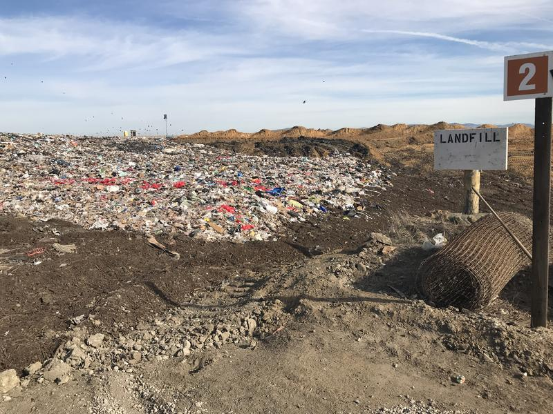 This is the landfill at the MRWMD. California is working to reduce their reliance on landfills across the state.