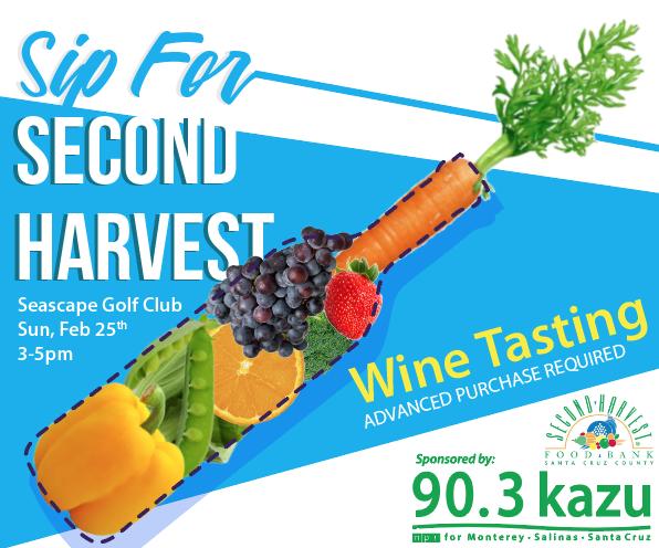 Sip for Second Harvest
