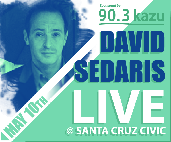 David Sedaris - Live at the Santa Cruz Civic