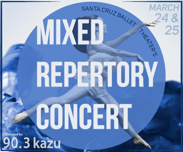Santa Cruz Ballet Theater's Mixed Repertory Concert