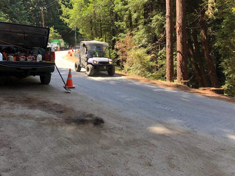 Residents will be able to use an ATV and pedestrian trail to get past the closure.