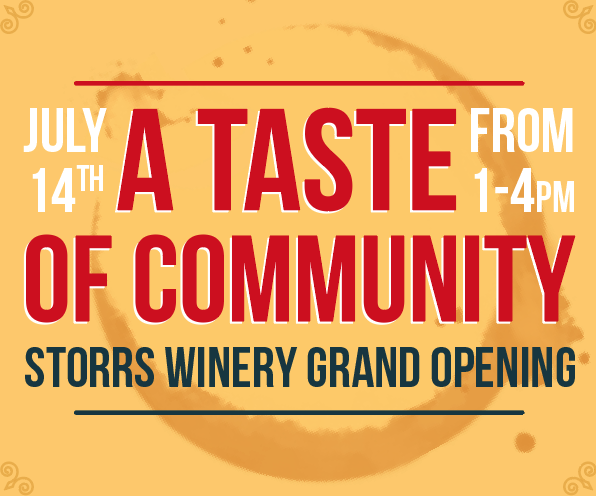 A Taste of Community: Storrs Winery Grand Opening