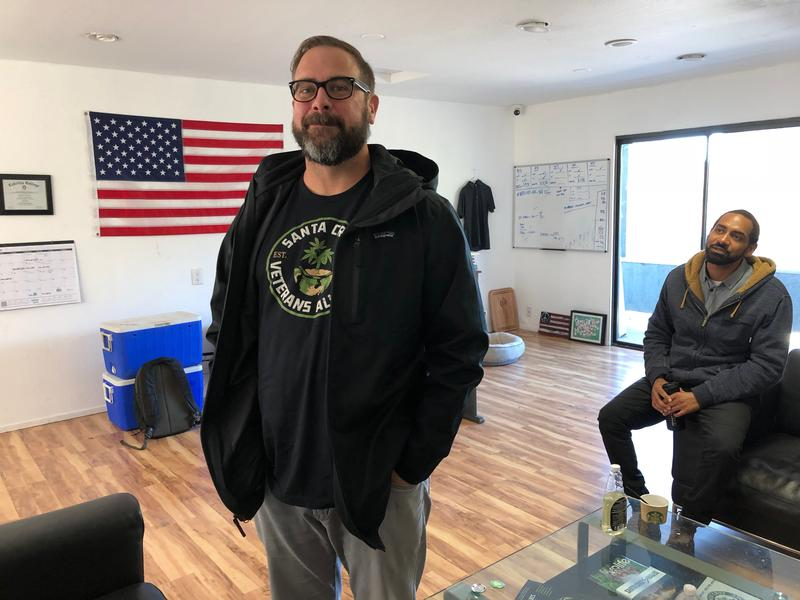 Jason Sweatt is co-founder of the Santa Cruz Veterans Alliance.