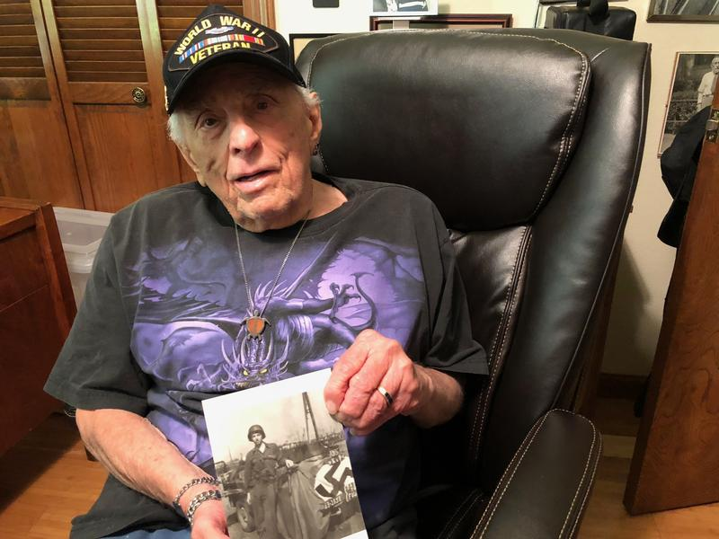 Lenny Bernstein is a World War II Veteran who uses marijuana to relieve pain and help him sleep.