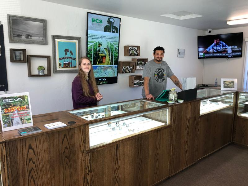 The Santa Cruz Veterans Alliance's dispensary in Soquel.